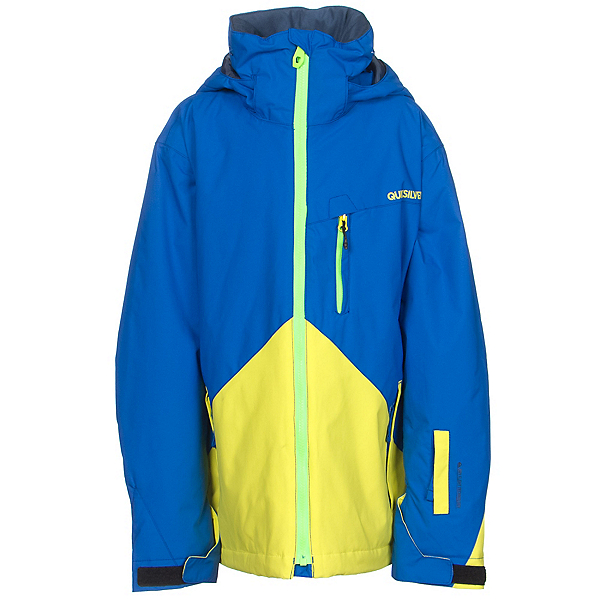 Quiksilver Mission Color Block Boys Snowboard Jacket, , 600