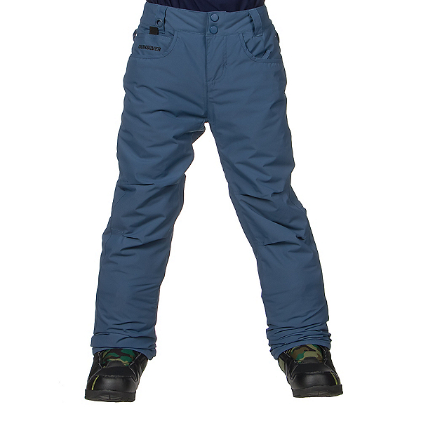 Quiksilver State Kids Snowboard Pants, Dark Denim, 600
