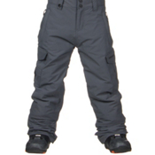 Quiksilver Mission Kids Snowboard Pants, Iron Gate, medium