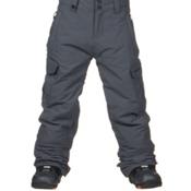 Quiksilver Mission Kids Snowboard Pants, Iron Gate, medium