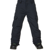 Quiksilver Mission Kids Snowboard Pants, Black, medium