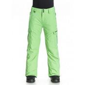 Quiksilver Mission Kids Snowboard Pants, Shamrock, medium