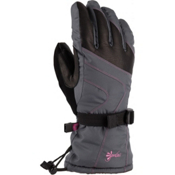 Gordini Gore-Tex Stormtrooper Womens Gloves, Darkgrey-Darkpink, medium