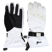 Gordini Gore-Tex Stormtrooper Womens Gloves, White-Black, medium
