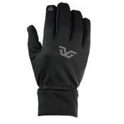 Gordini Tactip Stretch Fleece Glove Liners, Black, medium