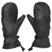 Gordini The Leather Goose III Womens Mittens, Black, medium