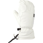 Gordini The Leather Goose III Womens Mittens, White, medium