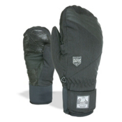 Level Stealth Mittens, Black, medium