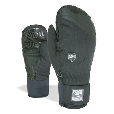 Level Stealth Mittens, Black, viewer