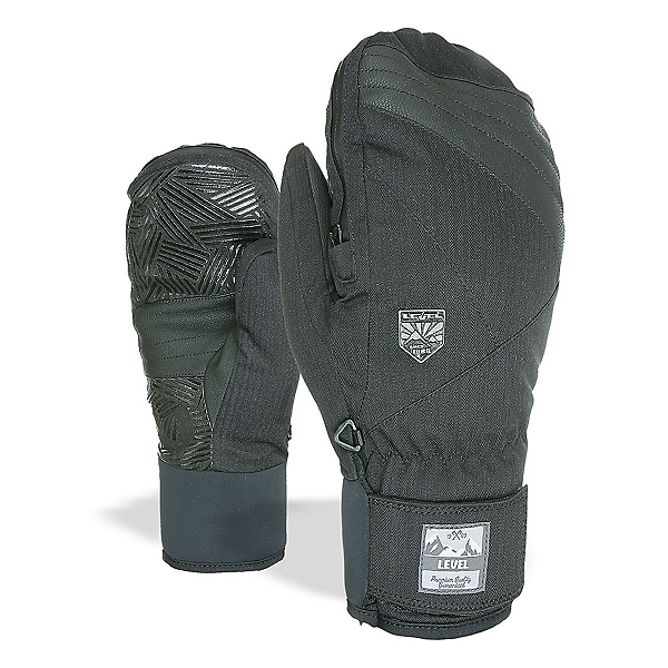 Level Stealth Mittens, Black, 600