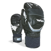 Level Race Ski Racing Mittens, Black, medium
