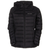 Columbia Platinum Plus 860 TurboDown Hooded Womens Jacket, Black, medium