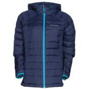Columbia Platinum Plus 860 TurboDown Hooded Womens Jacket, Nocternal-Atoll, medium