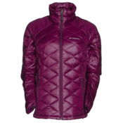 Columbia Trask Mountain 650 TurboDown Womens Jacket, Purple Dahlia, medium