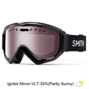 Smith Knowledge OTG Goggles 2017, Black-Ignitor Mirror, medium