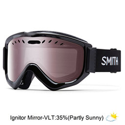 oakley ski goggles on sale  smith knowledge otg goggles 2017, black ignitor mirror, 256