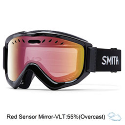Smith Knowledge OTG Goggles 2017, Black-Red Sensor Mirror, 256