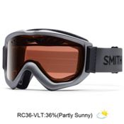 Smith Knowledge OTG Goggles, Graphite-Red Sensor Mirror, medium