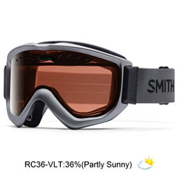 Smith Knowledge OTG Goggles 2017, Graphite-Red Sensor Mirror, 256
