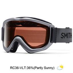 Smith Knowledge OTG Goggles, Graphite-Red Sensor Mirror, 256