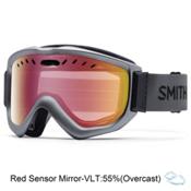 Smith Knowledge OTG Goggles 2017, Graphite-Ignitor Mirror, medium