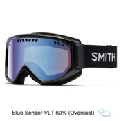 Smith Scope Goggles 2017, Black-Blue Sensor Mirror, medium