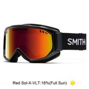 Smith Scope Goggles 2016, Black-Red Sol X Mirror, medium