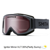 Smith Scope Goggles 2016, Charcoal-Ignitor Mirror, medium
