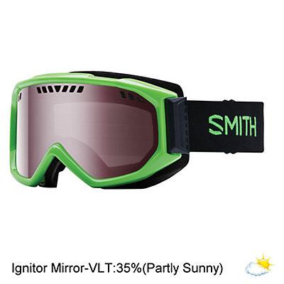 Smith Scope Goggles, Black-Blue Sensor Mirror, viewer