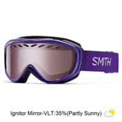 Smith Transit Womens Goggles 2016, Ultraviolet-Ignitor Mirror, medium