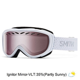 Smith Transit Womens Goggles 2017, White-Ignitor Mirror, 256