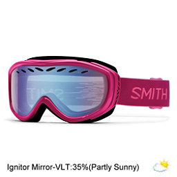 Smith Transit Womens Goggles 2017, Fuchsia Static-Blue Sensor Mir, 256