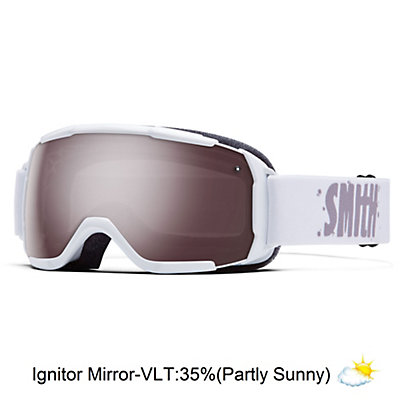 Smith Grom Kids Goggles, Black-Ignitor Mirror, viewer