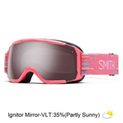 Smith Grom Girls Goggles 2016, Impulse-Ignitor Mirror, medium