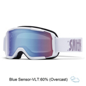 Smith Daredevil Kids Goggles 2016, White-Blue Sensor Mirror, medium