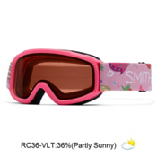 Smith Sidekick Girls Goggles 2016, Bright Pink Cupcakes-Rc36, medium