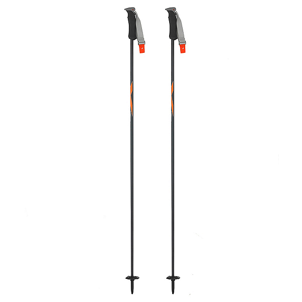 Swix Medieval+ Ski Poles, Sonic Orange, 600