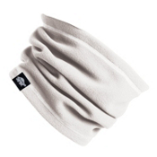 Turtle Fur Micro Fur Single Layer Neck Warmer, White, medium