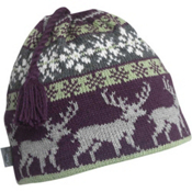Turtle Fur Reindeer Games Beanie, Raisin, medium