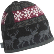 Turtle Fur Reindeer Games Beanie, Black, medium