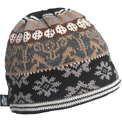 Turtle Fur Mokuba Beanie, Black, viewer
