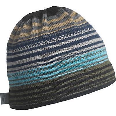 Turtle Fur Aslan Wool Knit Beanie, Charcoal, viewer