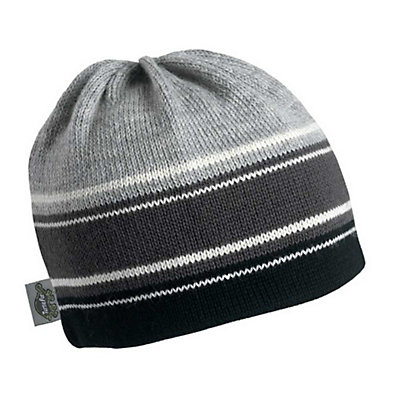 Turtle Fur Skipper Beanie, Charcoal, viewer