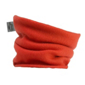 Turtle Fur Turtles Kids Neck Warmer, Flame Orange, medium