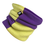Turtle Fur Original Rubix Kids Neck Warmer, Plum Crazy-Monster, medium