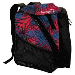Transpack XT1 Ski Boot Bag 2017, Red-Blue Palm, 256