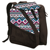 Transpack XTW Ski Boot Bag 2017, White-Pink-Aqua Aztec, medium