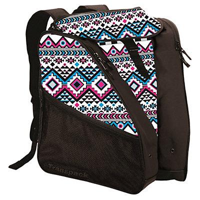 Transpack XTW Ski Boot Bag 2017, White-Pink-Aqua Aztec, viewer