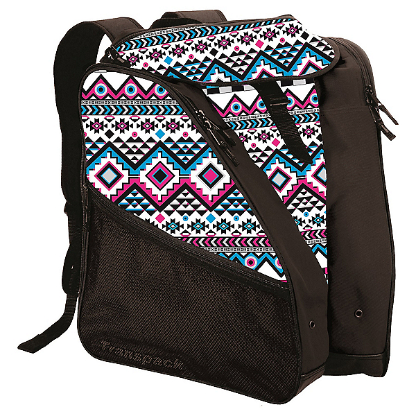 Transpack XTW Ski Boot Bag 2017, White-Pink-Aqua Aztec, 600