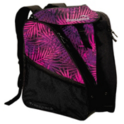 Transpack XTW Ski Boot Bag 2017, Pink-Purple-Black Palm, medium